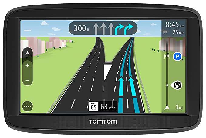 TomTom VIA 1525M 5-Inch GPS Navigation Device with Free Lifetime Maps of  North America, Advanced Lane Guidance and Spoken Turn-by-Turn Directions
