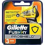 Gillette Fusion ProShield Ricarica di Lame per Rasoio, 3 Testine