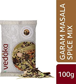 Amazon Brand - Vedaka Garam Masala Spice Mix, 100g