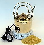 Hot Glue Pot Combo - Hand Made Brass Pot for Hide