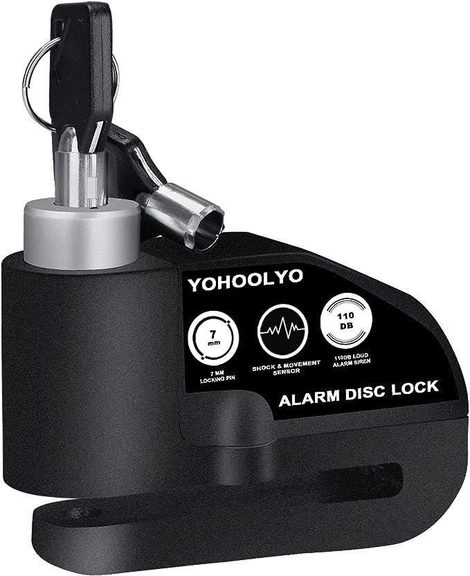 Fesjoy 12V 24V 105dB Alarme de secours de klaxon de moto invers/ée Alerte de recul avertisseur sonore Alarme de haut-parleurs Klaxon renvers/é de voiture