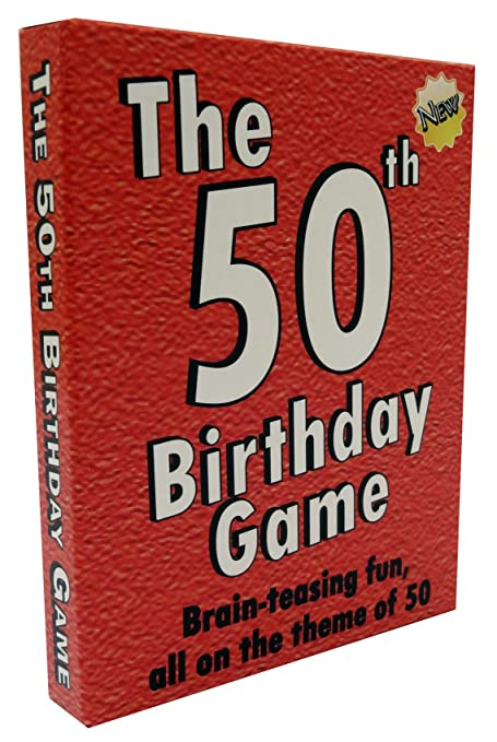 Amazon The 50th Birthday Game Fun Party Idea