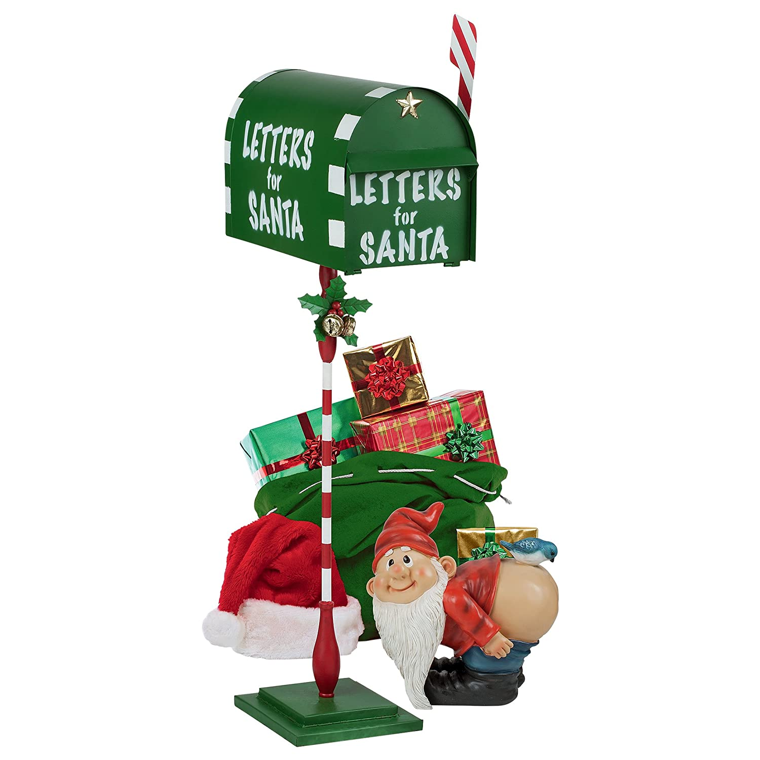 Christmas Decorations - Letters for Santa Claus Christmas Mailbox ...