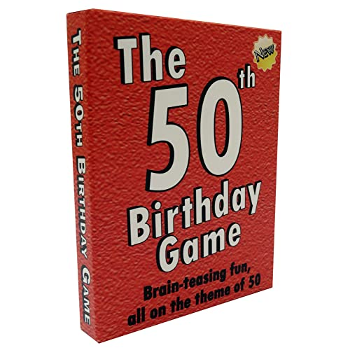 The 50th Birthday Game Fun Party Idea Also A Uniquely