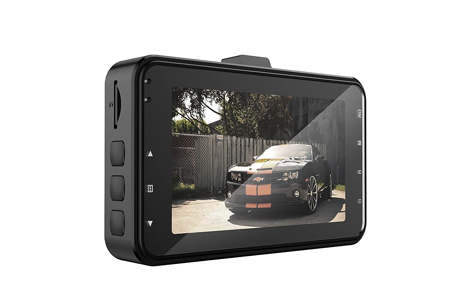 Night Vision Loop Recording Monichamp Dash Cam FHD 1080P 3 Inch Screen Dash Camera 170 Wide Angle Car Camera with G-Sensor Motion Detection