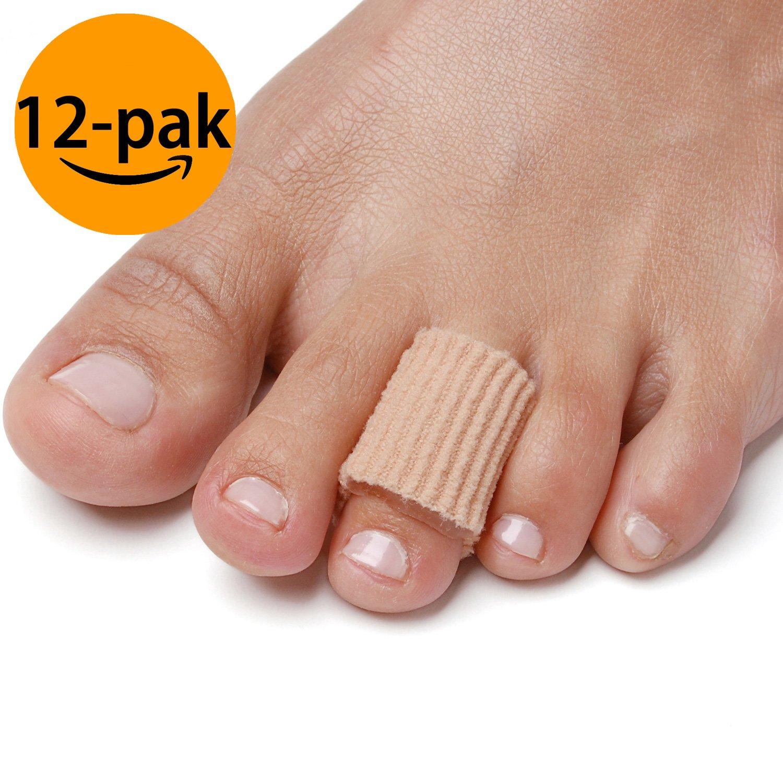 NatraCure Gel Corn Pad Protectors - (Cushions Corns, Blisters, Calluses, Toes & Fingers) - 12 Pack