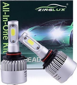 9005 9145 H10 DOT LED Headlight High Beam Fog Light Conversion Kit Upgrade 6500K