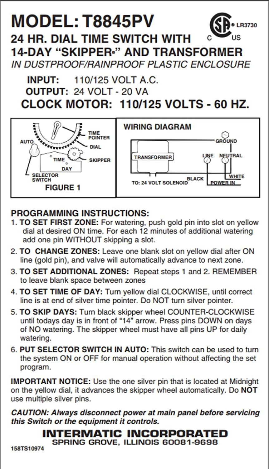 How To Wirentermatic T104 And Cbb61 3 Wire Wiring Diagram