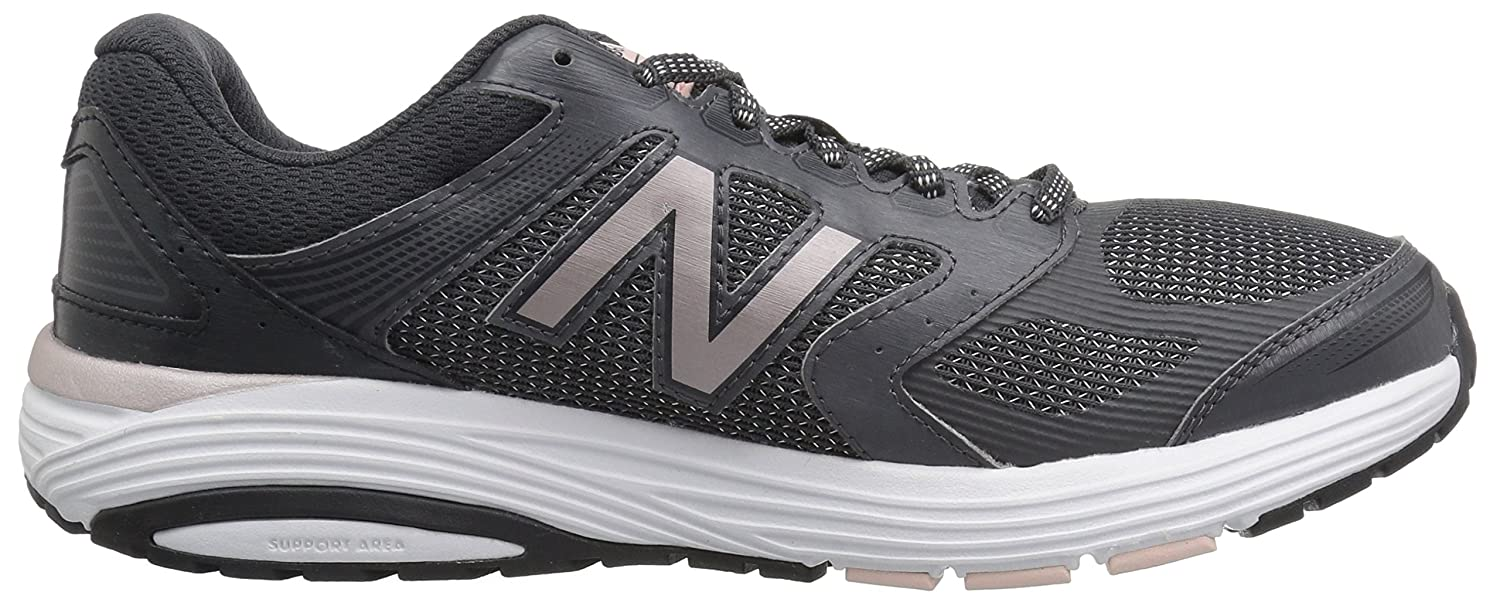 New Balance Women's W560v7 Cushioning Running Shoe B074VJN7Y7 7 D US|Phantom