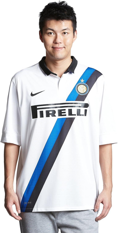Soccer Nike Inter Milan Away Soccer Jersey 11/12 - White (X-Large)