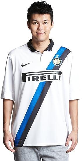 Soccer Nike Inter Milan Away Soccer Jersey 11 12 White X Large Sports Fan Jerseys Clothing Amazon Com