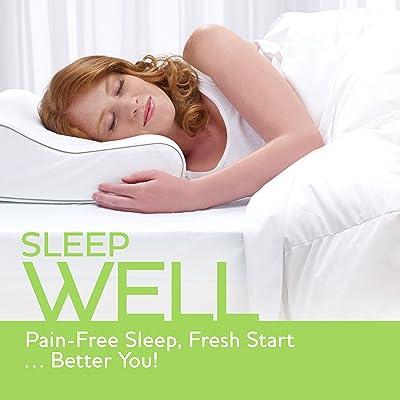 Best Memory Foam Pillows Reviews-Sleep Innovations Memory Foam Pillow