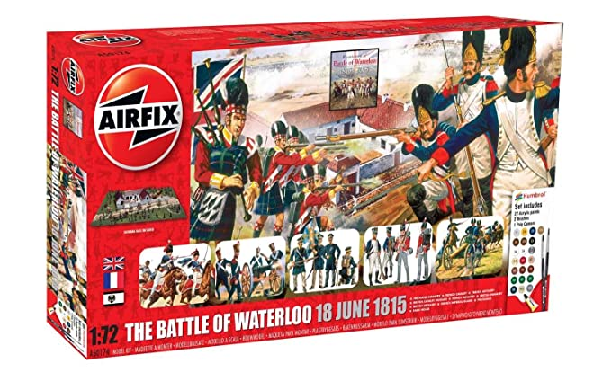 Amazon.com: Airfix A50174 Battle of Waterloo 1:72 Military ...