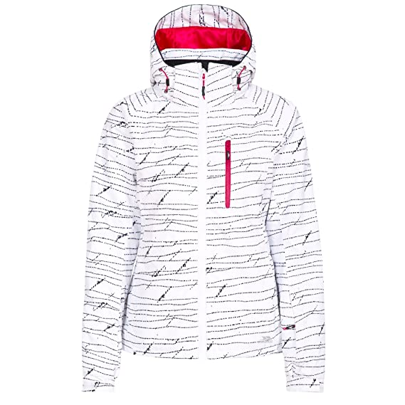Trespass Womens Ladies OYA Waterproof Ski Jacket  Amazon.co.uk  Clothing 2ace3e2f2