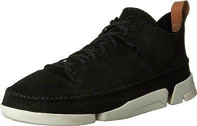 estilo Mujer joven Teoría establecida  Amazon.com | CLARKS Men's Nubuck Trigenic Flex Sneakers | Oxfords