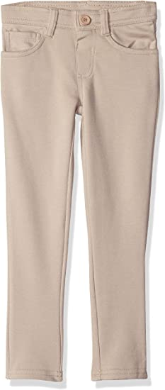 POLO ASSN Girls Pull-on Ponte Knit Skinny Fit Pant U.S