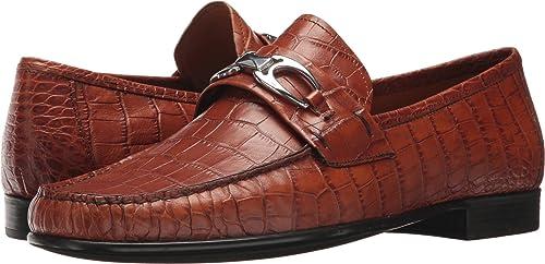 5848d815012 Right Bank Shoe Co¿ Men s Charles Bit Loafer Saddle Gator 8 ...