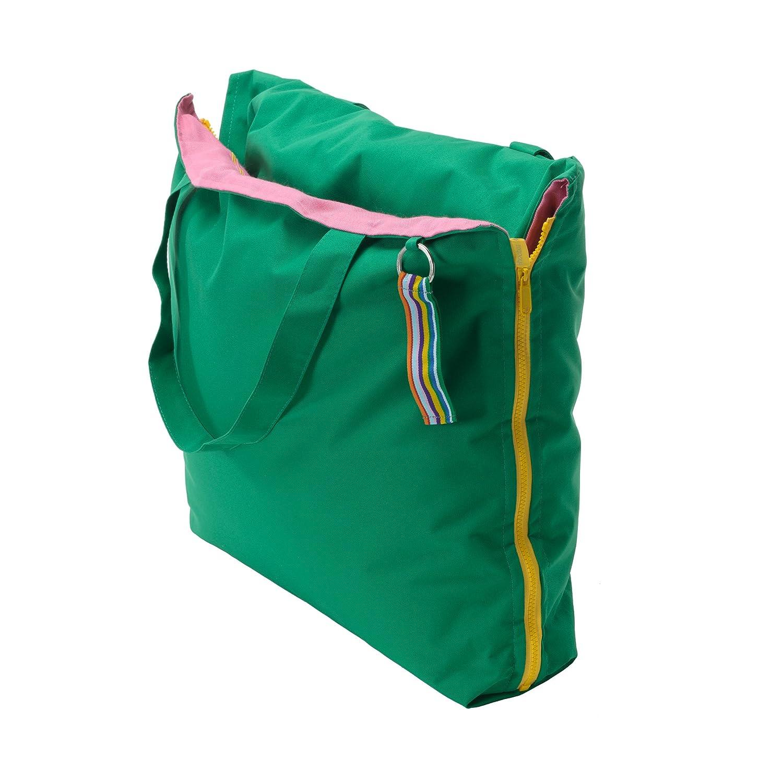 Hhooboz Tragetasche Kissentasche L 150 x 62 cm grün pink