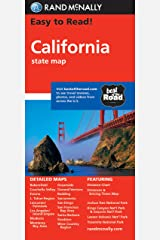 Easy To Read: California State Map (Rand McNally Easy to Read!) Map