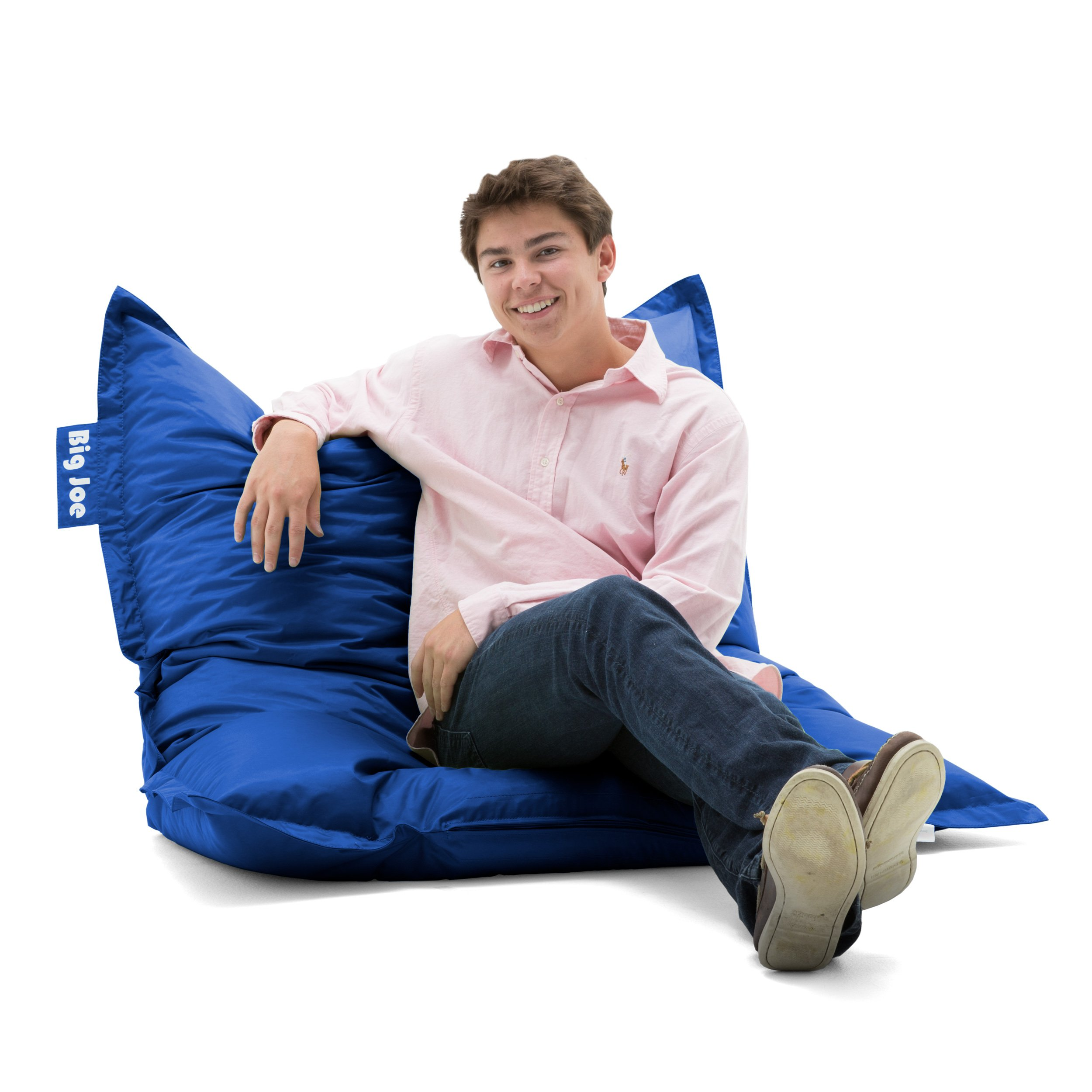 Big Joe 640614 Original Bean Bag Chair, Sapphire
