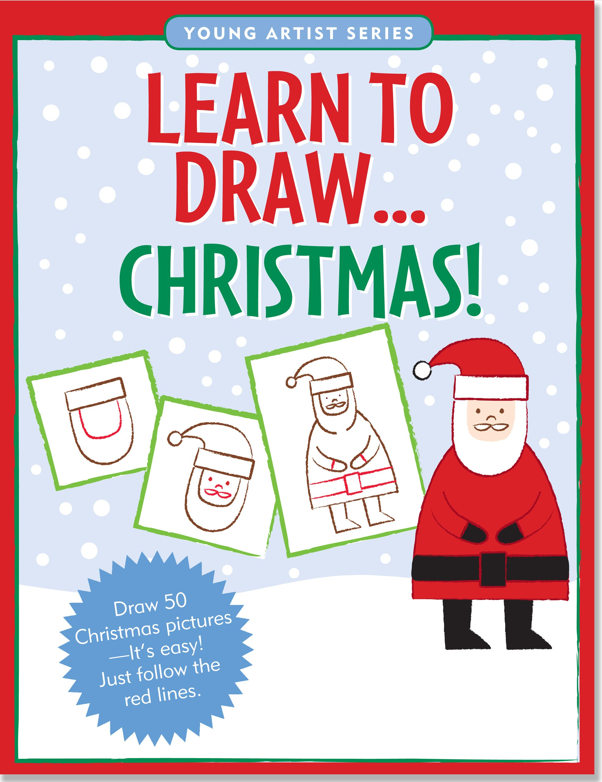 Learn To Draw Christmas! (Easy Step-by-Step Drawing Guide) (Young ...