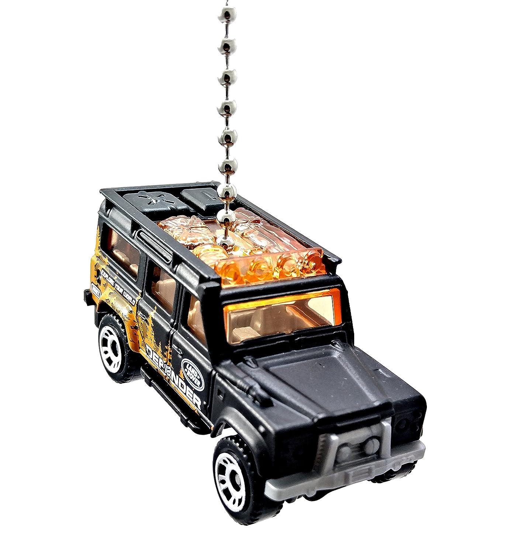 7a36285b2afdd Matchbox Land Rover Defender Diecast Ceiling Fan Light Pull ...