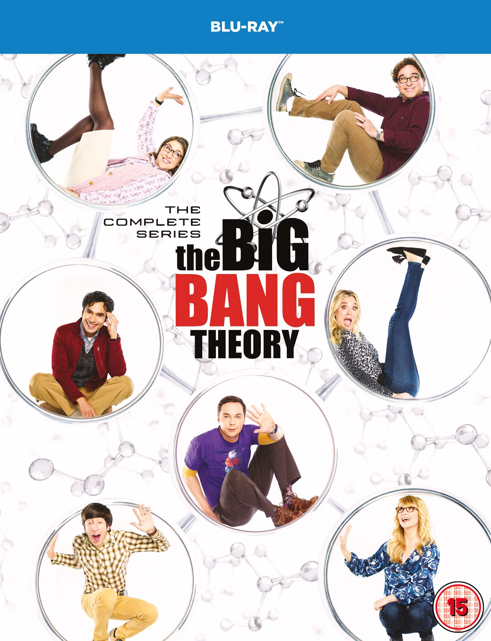 The Big Bang Theory: The Complete Series [Blu-ray] [2007] [2019] [Region Free]