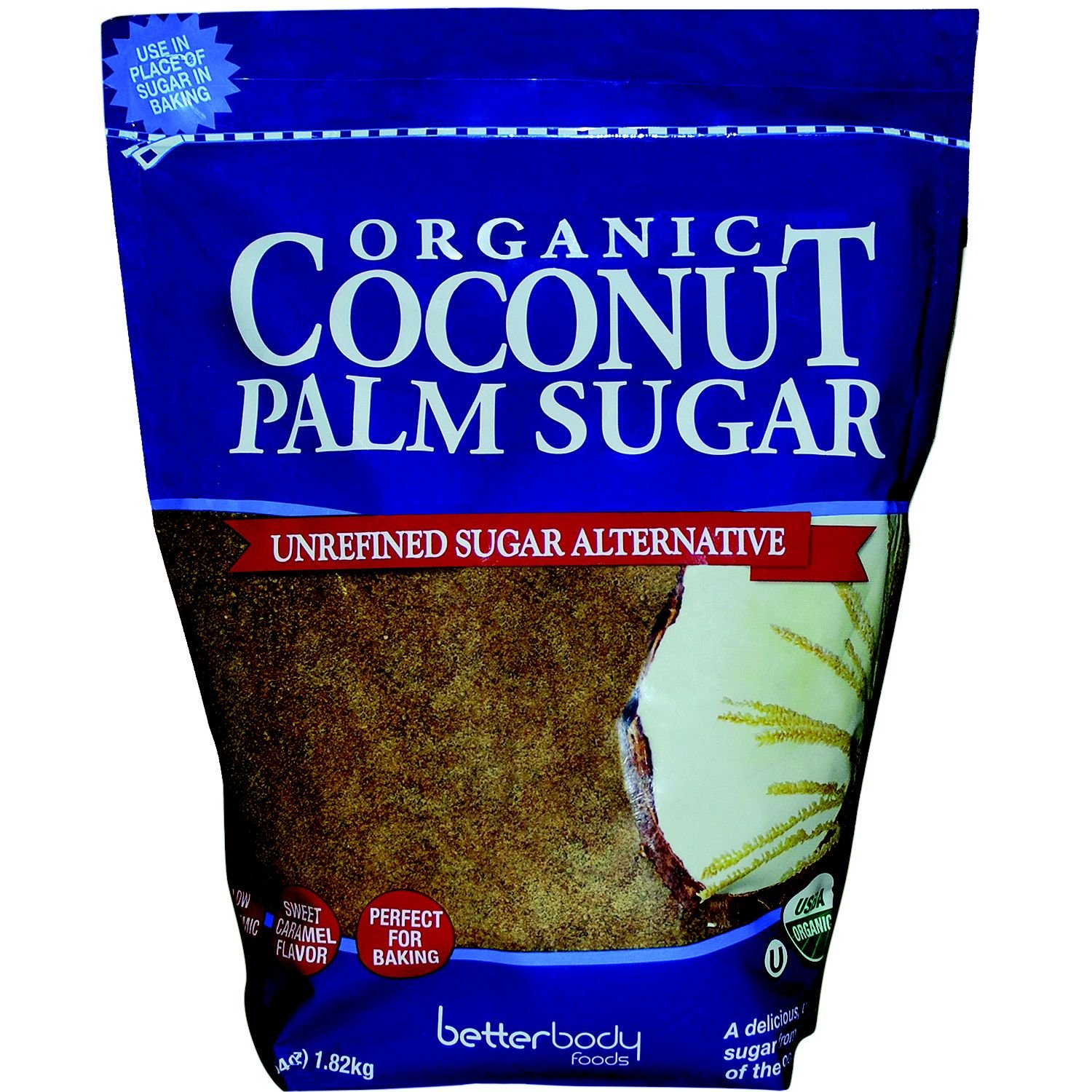 BetterBody Foods Organic Coconut Palm Sugar (4 lbs.)