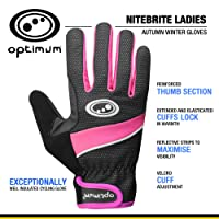 Optimum Women's Nitebrite Cycling Winter Gloves