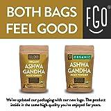 Organic Ashwagandha Root Powder   16oz Resealable