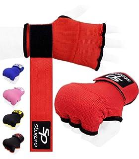Artes Marciales JZK 2 x Almohadillas y Manoplas Boxeo,/Guantes de Boxeo Kick Boxing Punch MMA Kickboxing Sparring Pads de pr/áctica para Muay Thai Karate Taekwondo