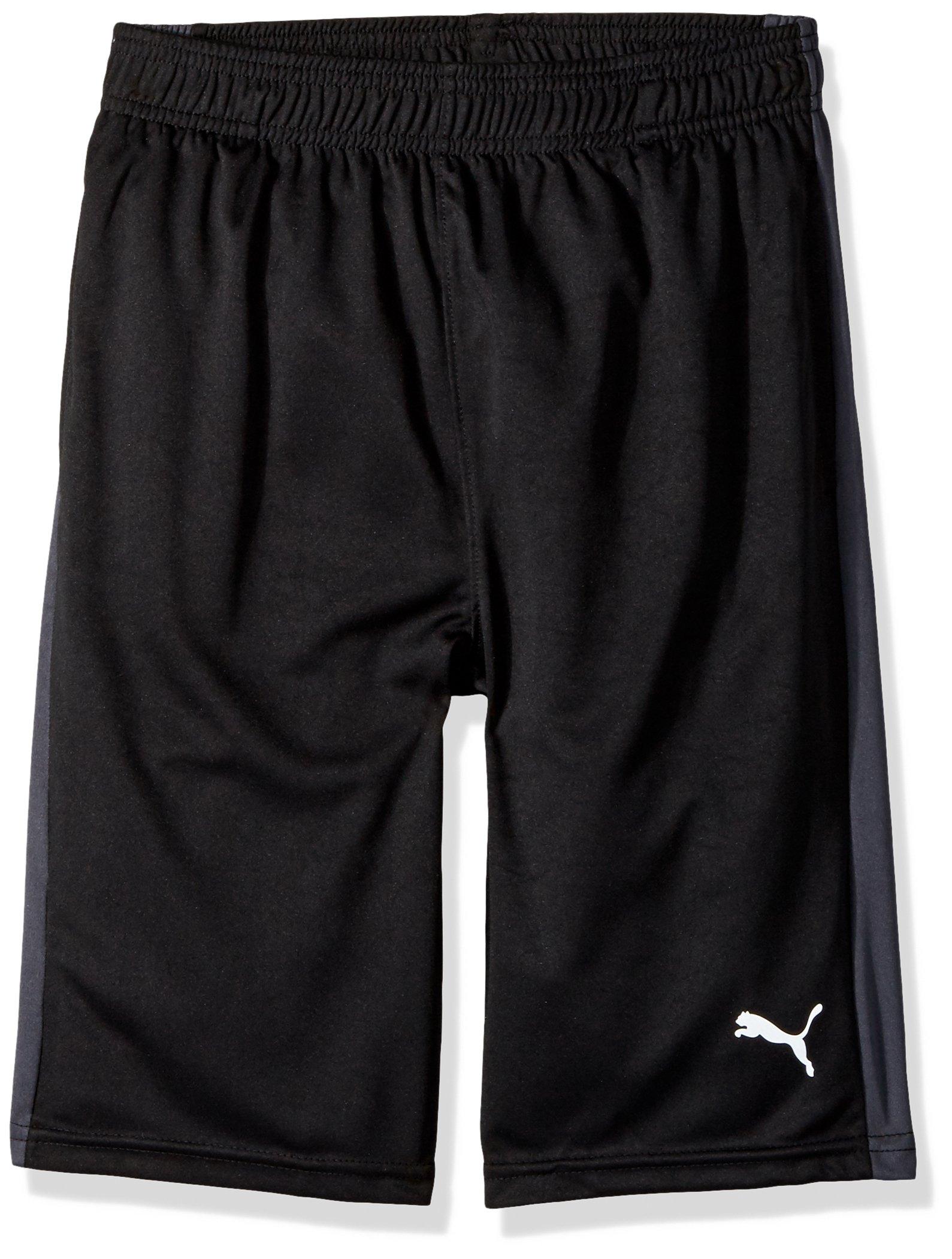 PUMA Big Boy's Puma Boys' Form Stripe Short Shorts, puma black, Small by PUMA