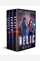 The Relic Box Set (Books 1-3): A Kane Arkwright Supernatural Thriller Kindle Edition