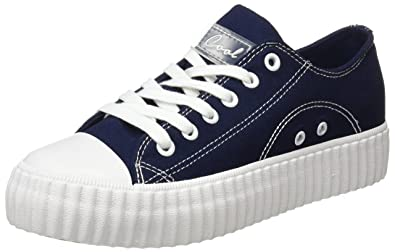 COOLWAY Britney, Zapatillas para Mujer, Azul (Navy/Marino), 36 EU: Amazon.es: Zapatos y complementos