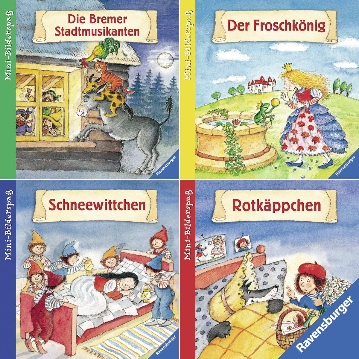 Ravensburger Mini-Bilderspaß 46 - Meine liebsten Märchen (4er-Set)