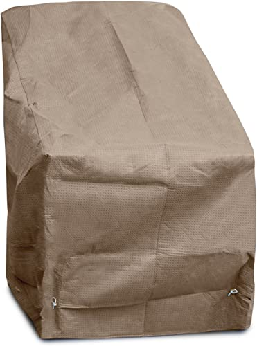 KoverRoos III 32150 Chair Cover, 30-Inch Width by 37-Inch Diameter by 30-Inch Height, Taupe