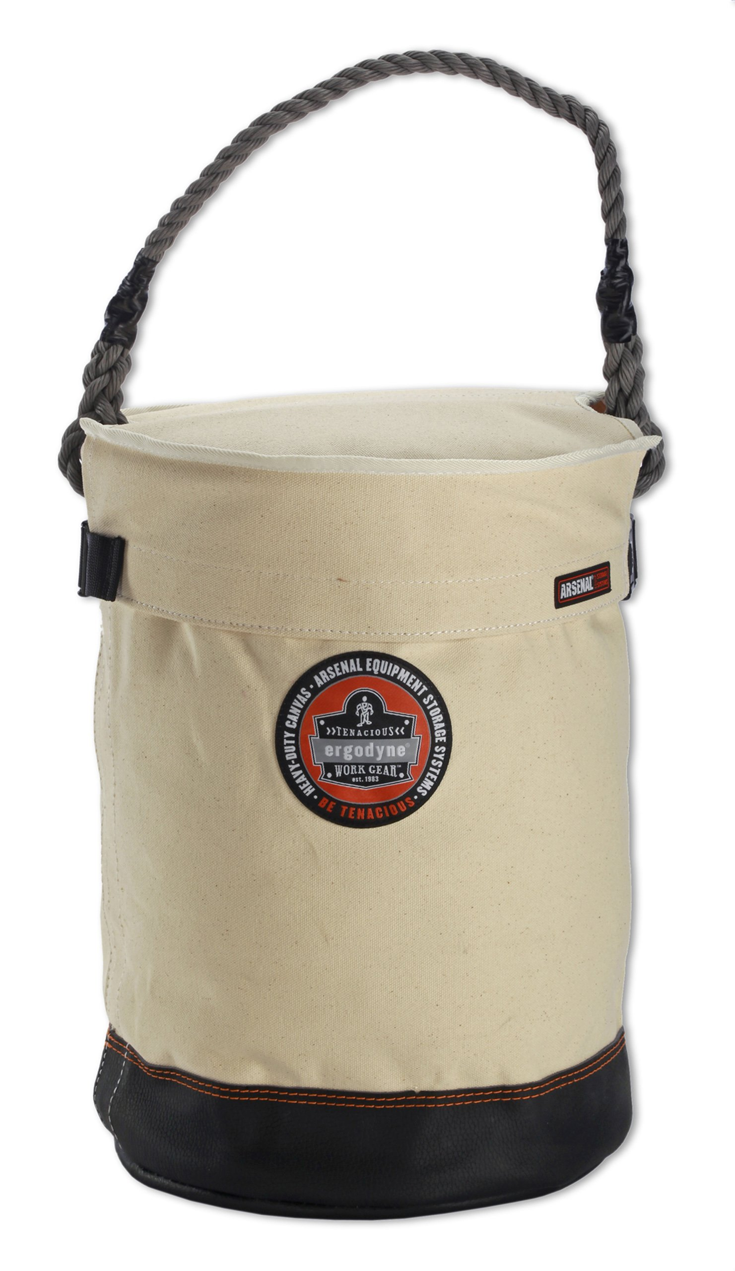 Ergodyne Arsenal 5730T Leather Bottom Tool Bucket with Cover