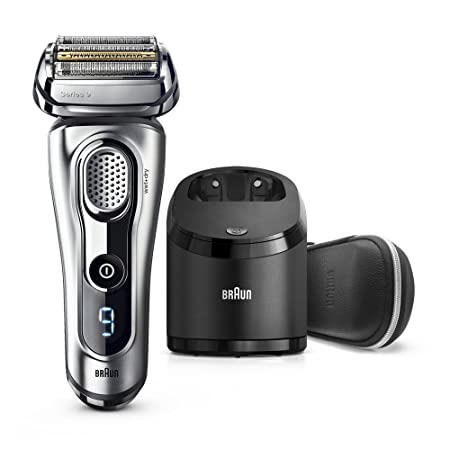 Braun Series 9 Men s Electric Foil Shaver with Wet Dry Integrated Precision Trimmer Rechargeable and Cordless Razor with Clean Charge Station, 9291cc