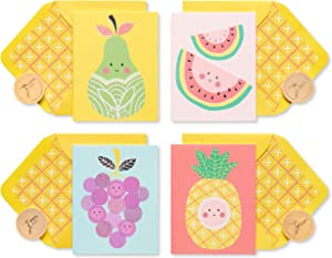 Papyrus Boxed Blank Cards with Envelopes, Fruit (20-Count)