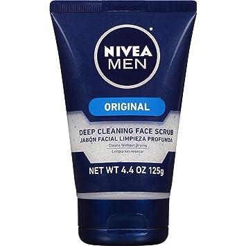 Amazon Com Nivea Men Original Deep Cleaning Face Scrub 4 4 Ounce