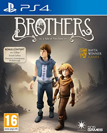 Kết quả hình ảnh cho Brothers A Tale of Two Sons cover ps4