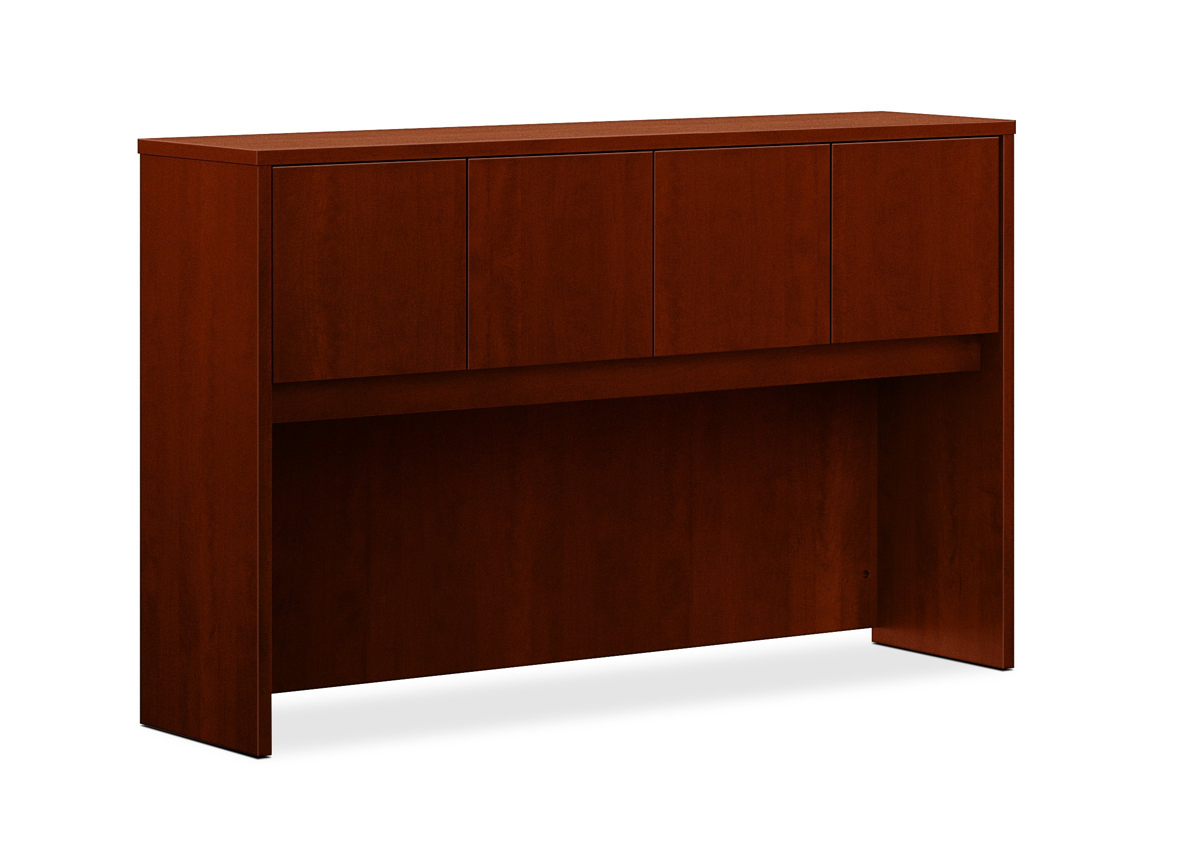 HON BL Series Stack-On Hutch , 4 Doors , 60''W x 14-5/8''D x 37-1/8''H , Medium Cherry Finish by HON