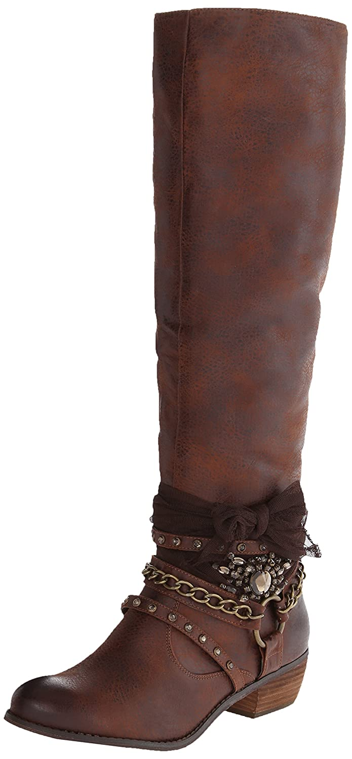 Not Rated Women's Tutsan Riding Boot B015G2XTMC 11 B(M) US|Tan