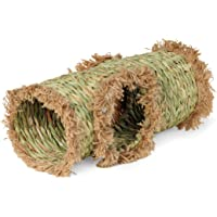 Prevue Hendryx 1098 Nature's Hideaway Grass Tunnel Toy, 13 x 6