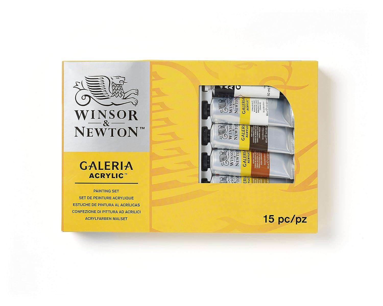 Winsor & Newton 2190518 Galleria Acrylic Complete Set