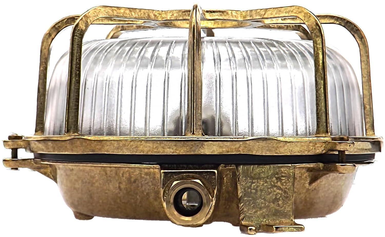 Lampada da esterno barca stega lampada da parete in ottone