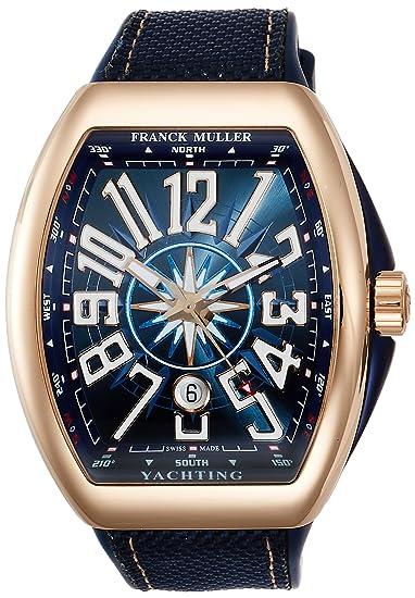 reputable site e76a6 2d194 Amazon | [フランクミュラー] 腕時計 V45SCDT YACHTING 5N BL ...