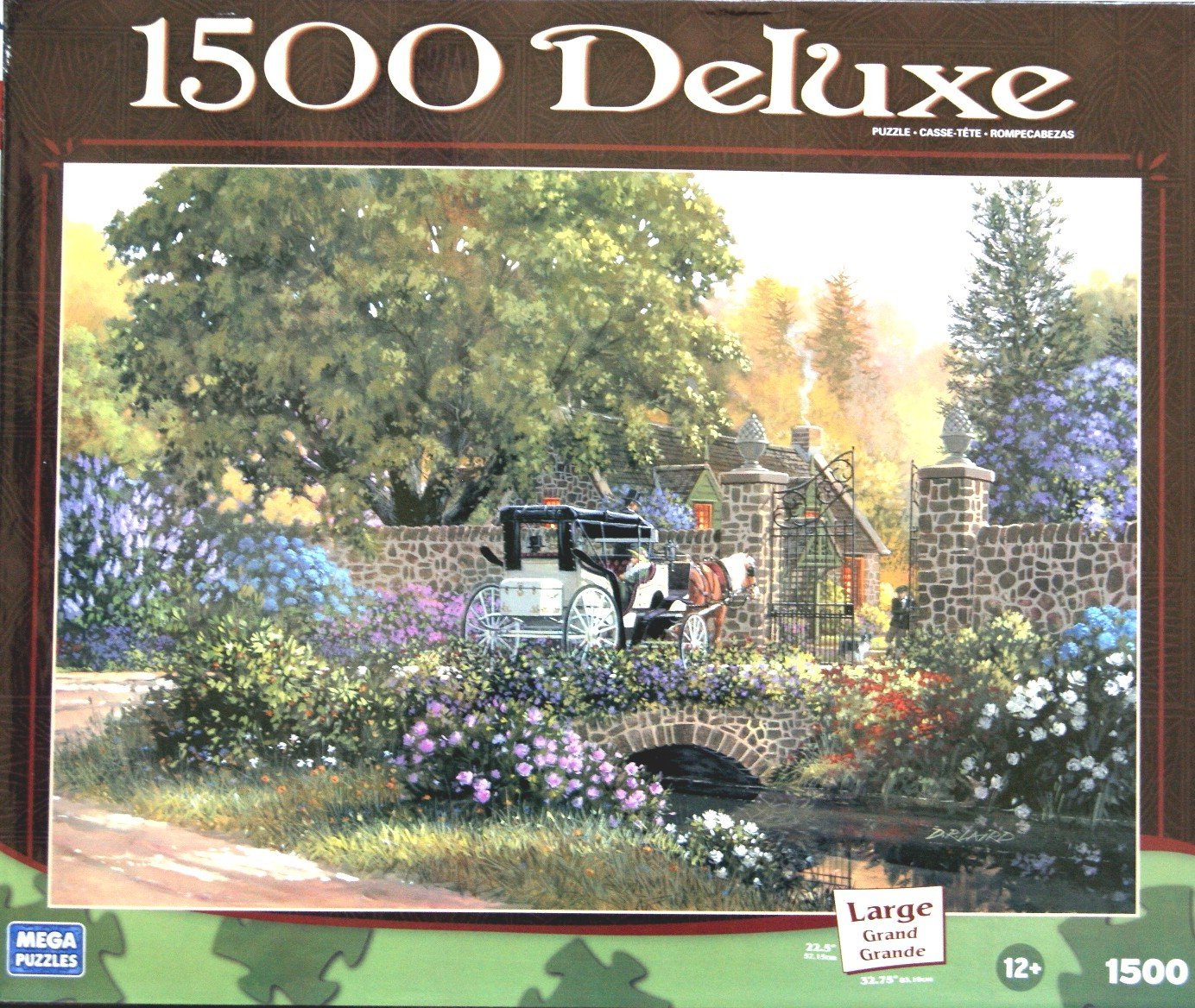 Gatekeeper's Cottage 1500 Piece Deluxe Puzzle (32.75 X 22.5 )