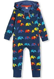 0-2 Jahre Baby M/ädchen Junge Schlafanzug Pyjama Bio-Baumwolle Schlafstrampler mit Applikation