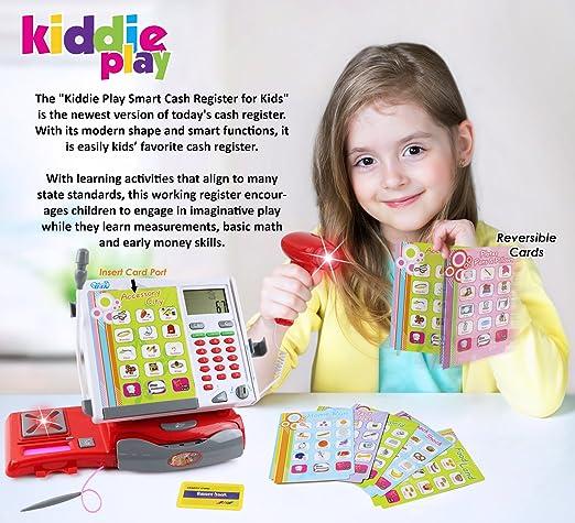 Kiddie Play Toy Cash Register for Kids